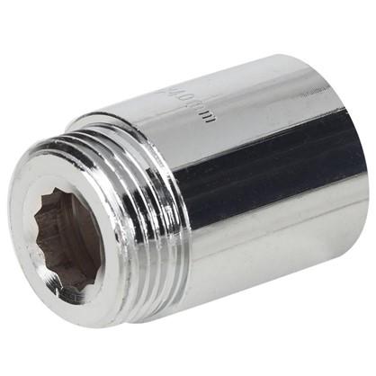Удлинитель внутренняя резьба 1-40 мм цвет хром