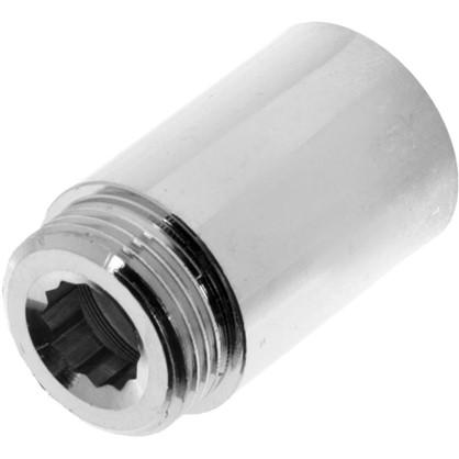 Удлинитель внутренняя резьба 1-50 мм цвет хром