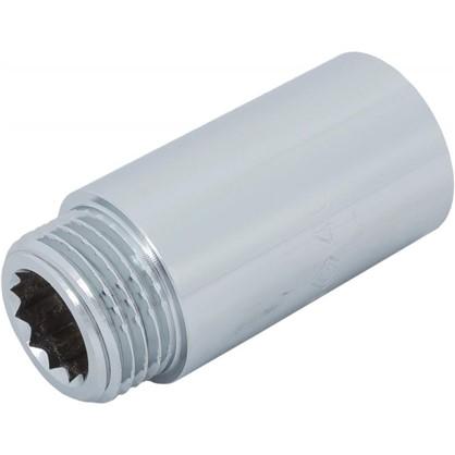 Удлинитель внутренняя резьба 1/2х40 мм цвет хром