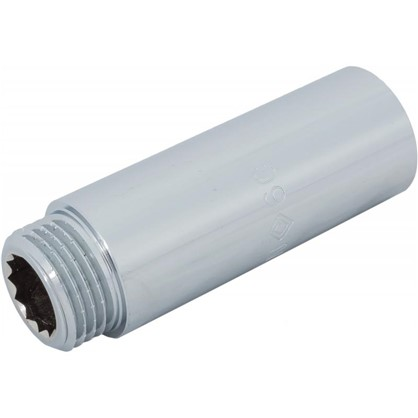 Удлинитель внутренняя резьба 1/2х60 мм цвет хром