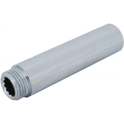 Удлинитель внутренняя резьба 1/2х90 мм цвет хром