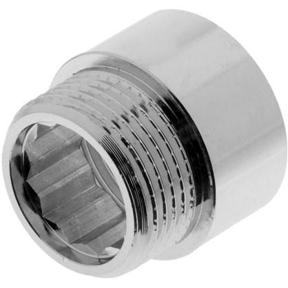 Удлинитель внутренняя резьба 3/4х15 мм цвет хром