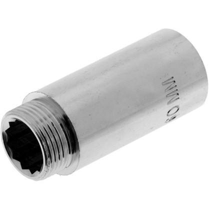 Удлинитель внутренняя резьба 3/4х60 мм цвет хром