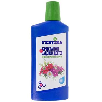Удобрение Фертика Кристалон для садовых цветов 0.5 л