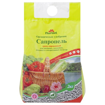 Удобрение Florizel Сапропель гранулированное ОУ 2 кг