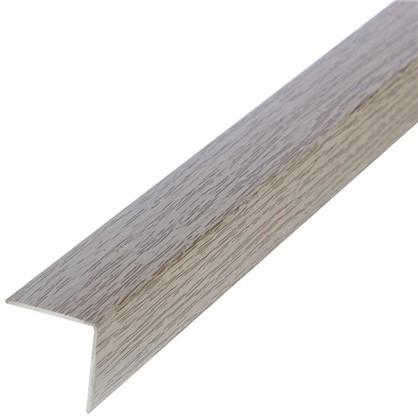 Угол 20x20x2700 мм ПВХ цвет дуб аляска
