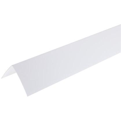 Угол 50х50х2700 мм ПВХ цвет белый
