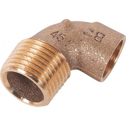 Угол 90° Viega 15х1/2 наружная резьба медь
