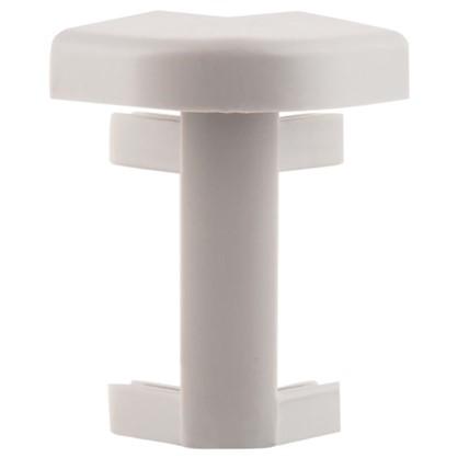 Угол для плинтуса под ковролин/линолеум внешний 50 мм 2 шт.