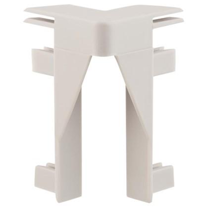 Угол для плинтуса под ковролин/линолеум внутренний 50 мм 2 шт.