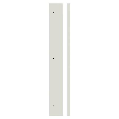 Угол для шкафа Delinia Айс 4х70 см лакированная ЛДСП цвет белый