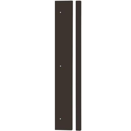 Угол для шкафа Delinia Графит 4х70 см МДФ/пленка ПВХ цвет графит