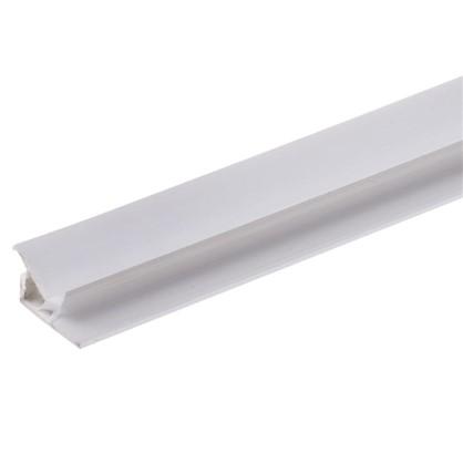 Угол ПВХ внутренний 2440 мм цвет белый