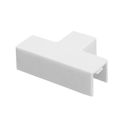 Угол Т-образный 12/12 мм цвет белый 4 шт.