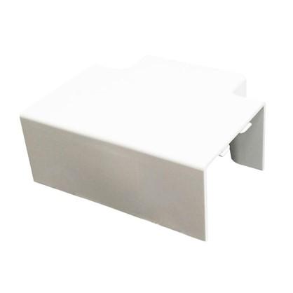 Угол Т-образный 40/60 мм цвет белый 2 шт.