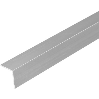 Уголок алюминиевый 15х15х12 см 2 м цвет серебро