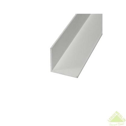 Уголок алюминиевый 20х20х1 1 м белый муар