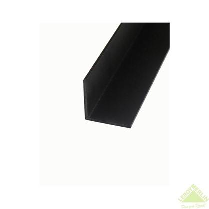Уголок алюминиевый 30х30х1.5 1 м черный муар