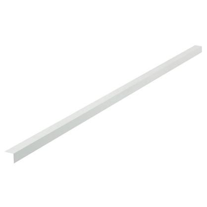 Уголок алюминиевый 30х30х1.5 2 м белый муар
