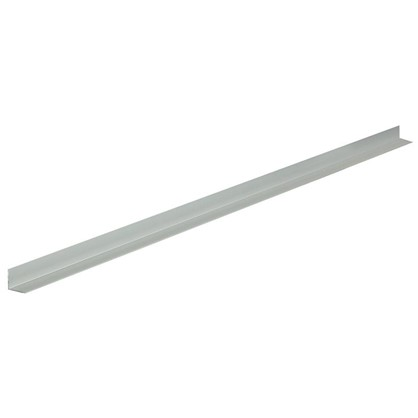 Уголок алюминиевый 30х30х1.5 мм 2 м цвет серебро