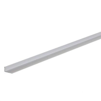 Уголок алюминиевый 40х20х2 мм 2 м цвет серебро