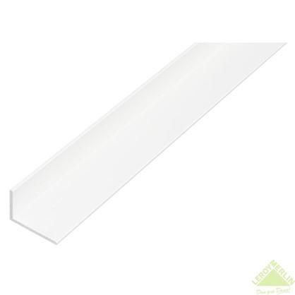 Уголок ПВХ 25x20x2x1000 мм цвет белый