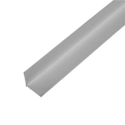 Уголок ПВХ 25x25x1.8x2000 мм цвет белый