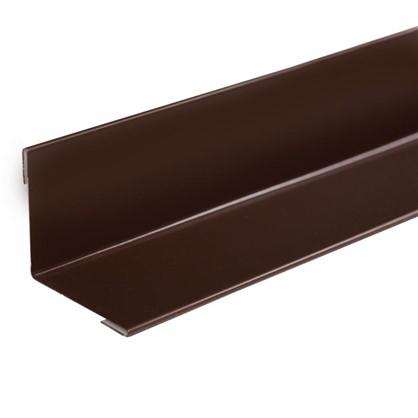 Уголок внутренний коричневый 50x50 мм