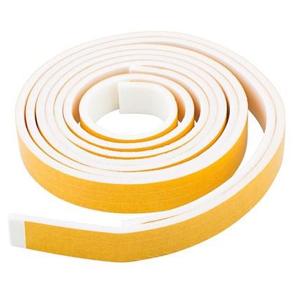 Уплотнитель изолоновый 9 м цвет белый