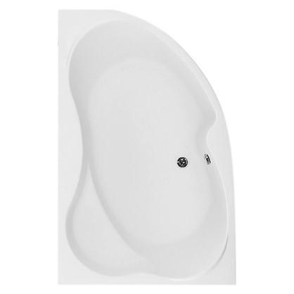 Акриловая ванна левосторонняя Aquanet Купер 160х100 см