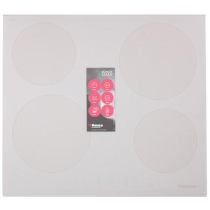 Варочная панель индукционная Hansa BHIB68328 57.5х52 см 4 конфорки 7400 Вт цвет слоновая кость