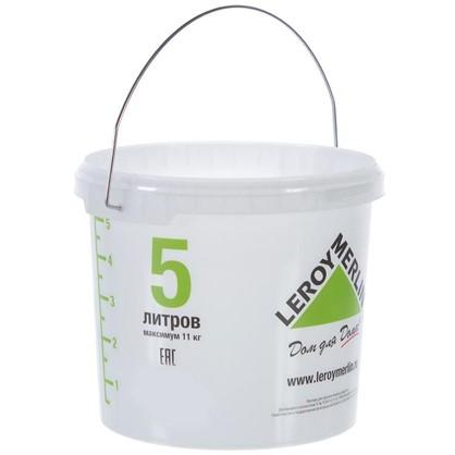 Ведро 5л пищевой пластик