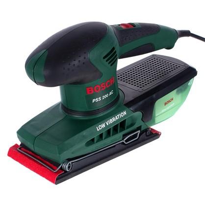 Вибрационная шлифовальная машина Bosch PSS 200 AC 200 Вт 92х182 мм