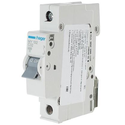 Автоматический выключатель Hager 1 полюс 32 A