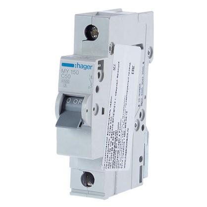 Автоматический выключатель Hager 1 полюс 50 A
