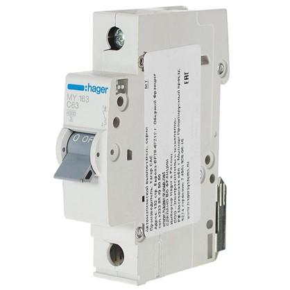 Автоматический выключатель Hager 1 полюс 63 A