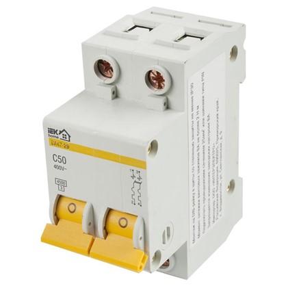 Автоматический выключатель IEK Home В А47-29 2 полюса 50 А