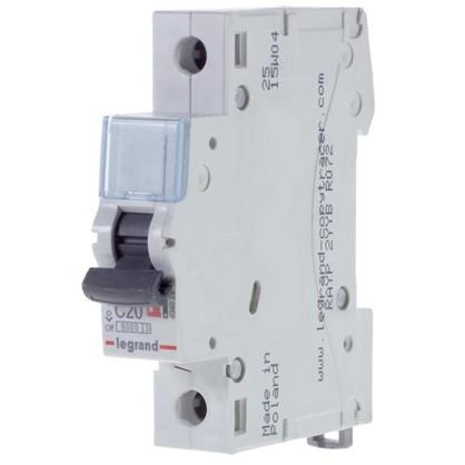 Автоматический выключатель Legrand 1 полюс 20 А