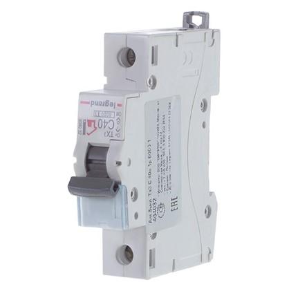 Автоматический выключатель Legrand 1 полюс 40 А