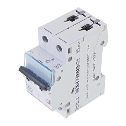 Автоматический выключатель Legrand 2 полюса 63 А