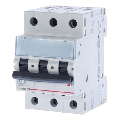 Автоматический выключатель Legrand 3 полюса 16 А