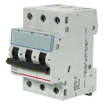 Автоматический выключатель Legrand 3 полюса 50 А