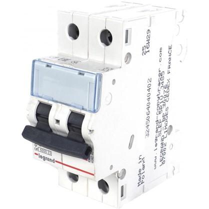Автоматический выключатель Legrand TX3 2 полюса 10 A