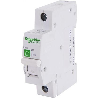 Автоматический выключатель Schneider Electric Resi9 1 полюс 50 A