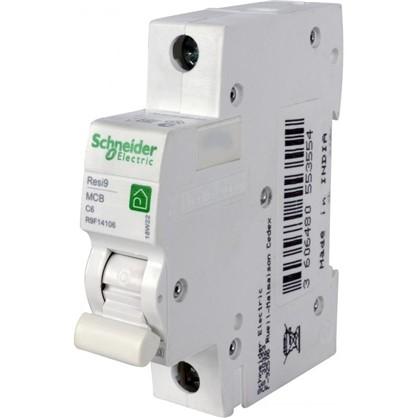 Автоматический выключатель Schneider Electric Resi9 1 полюс 6 A