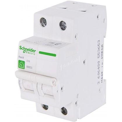 Автоматический выключатель Schneider Electric Resi9 2 полюса 10 A