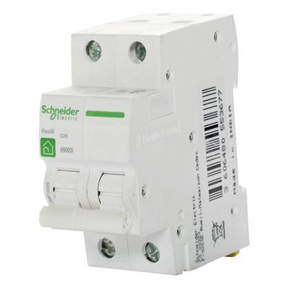 Автоматический выключатель Schneider Electric Resi9 2 полюса 20 A