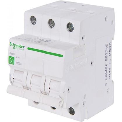 Автоматический выключатель Schneider Electric Resi9 3 полюса 10 A