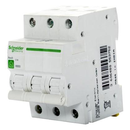 Автоматический выключатель Schneider Electric Resi9 3 полюса 16 A