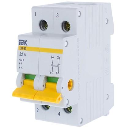 Выключатель нагрузки IEK ВН-32 2 полюса 32 А